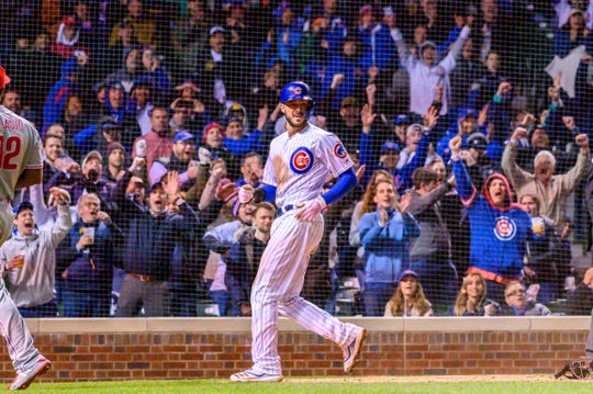 Báezs Pinch Hit Single Lifts Cubs Over Phillies 3 2