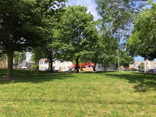 Kruse playground at the corner of 14th St. and Clifford Brown Walk in Wilmington.