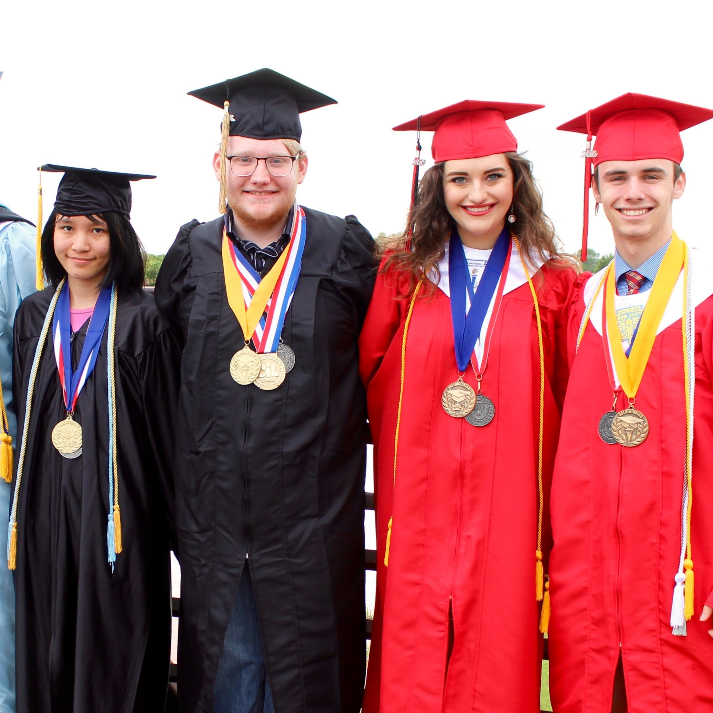 WFISD announces valedictorians and salutatorians for three high schools