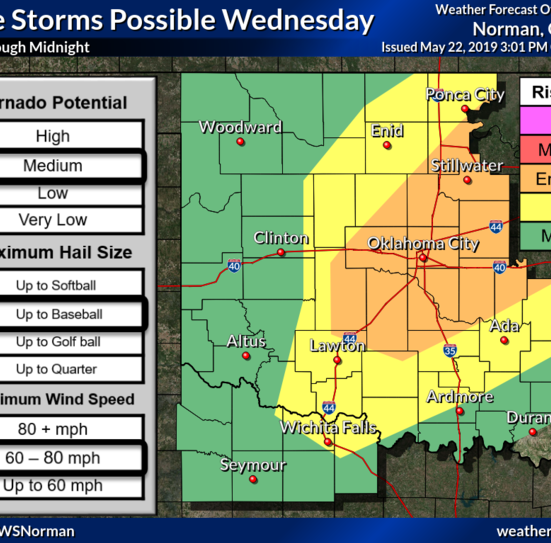 Tornado watch issued for Wichita, area counties