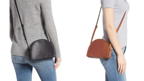 You can wear this Madewell bag with literally everything.