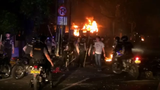 Supporters of an unsuccessful presidential candidate clashed with security forces in the Indonesian capital, burning vehicles and throwing rocks at police. (May 22)