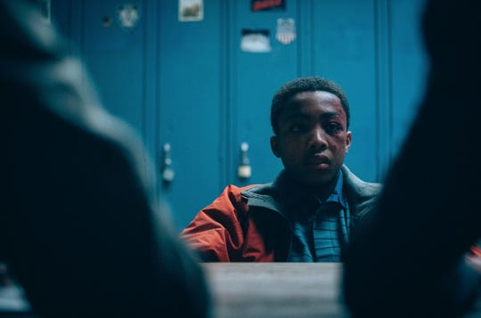 "Asante Blackk in ""When They See Us,"" Ava DuVernay's retelling of the Central Park Five."