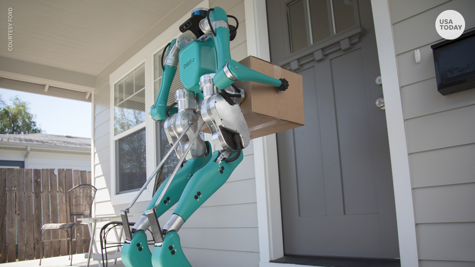 This robot could start delivering packages to your door