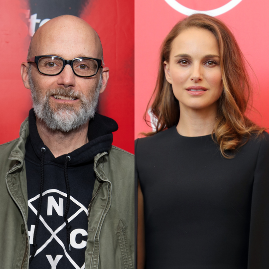 Moby and Natalie Portman.