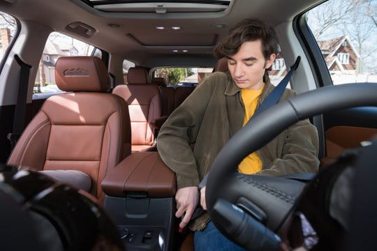 Chevrolet's new industry-first Buckle to Drive feature, embedded in Teen Driver mode, is designed to encourage young drivers to develop safe driving habits.