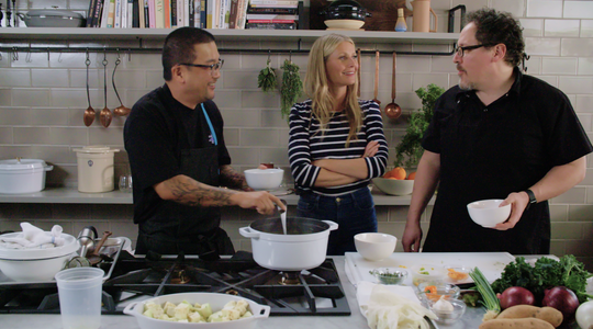 "Jon Favreau's film ""Chef"" has long been shot, but his passion for cooking hasn't died. The actor/director's ""The Chef Show"" is coming to Netflix."