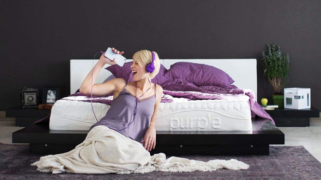 Purple's mattresses have received praised from customers for helping with pressure points and easing joint pain.