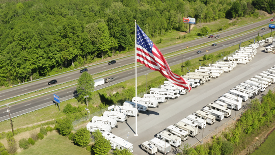 The city of Statesville, N.C., has filed a lawsuit against a Gander RV location for allegedly violating a city ordinance by flying an American flag that is significantly larger than what the city's codes permit.