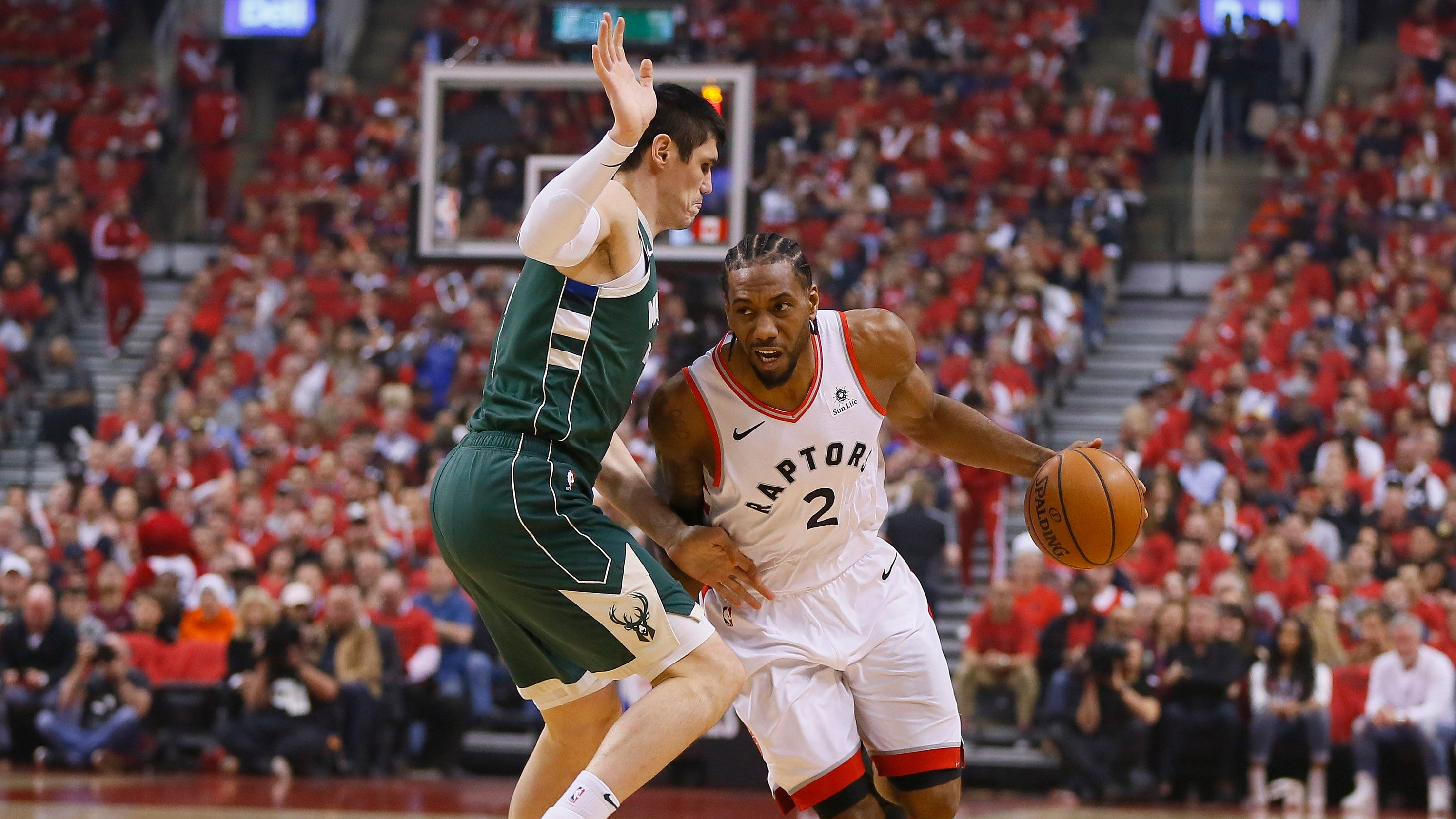 NBA Playoffs: Raptors Beat Bucks In Game 4 To Even East Finals