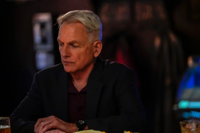 Gibbs (Mark Harmon) gets a big surprise at the end of the Season 16 finale of CBS' 'NCIS.'