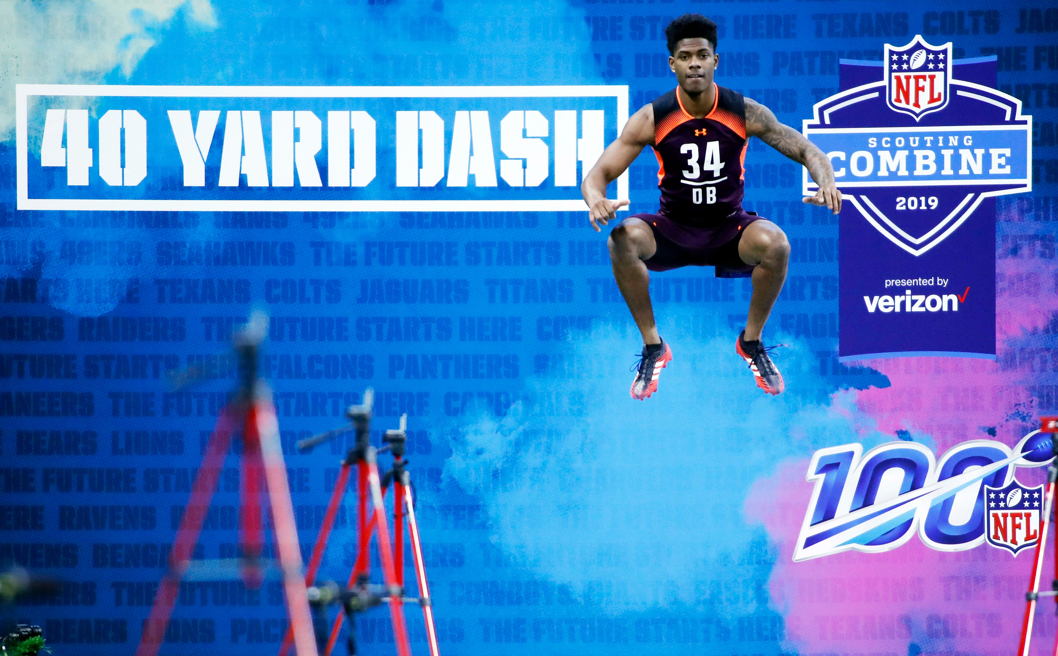 Nfl Combine 2020 Events.Nfl Scouting Combine Drills Shifted To Afternoon And Prime Time