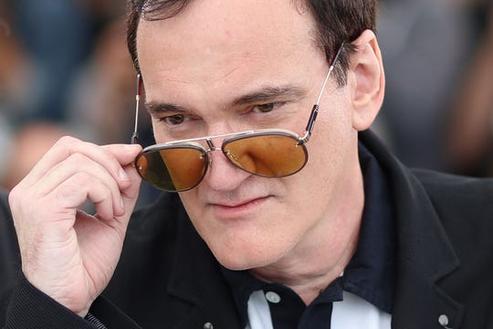 "US film director Quentin Tarantino poses during a photocall for the film ""Once Upon a Time... in Hollywood"" at the 72nd edition of the Cannes Film Festival in Cannes, southern France, on May 22, 2019. (Photo by Valery HACHE / AFP)VALERY HACHE/AFP/Getty Images ORIG FILE ID: AFP_1GR81K"