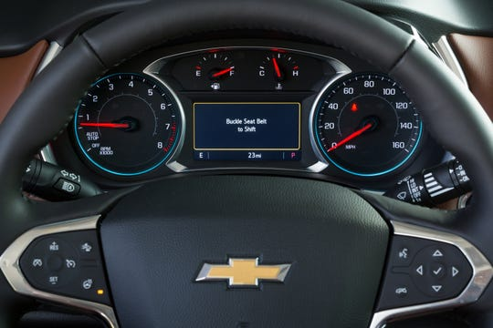 Chevrolet's Buckle to Drive feature is available when the vehicle is in Teen Driver mode.