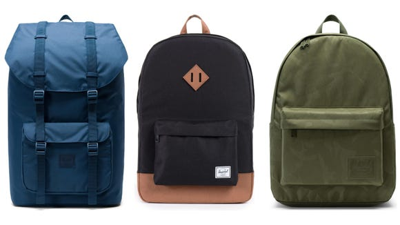 Save up to 40% on select Herschel Supply Co. backpacks now.