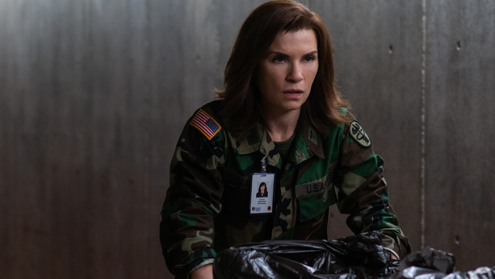 Julianna Margulies wants to prove science deniers wrong with Ebola drama 'Hot Zone'