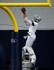 Where are Dallas Cowboys and quarterback Dak Prescott in contract negotiations?