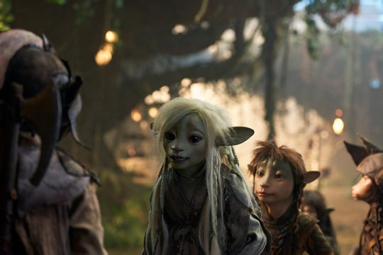 "The Gelfling Deet, voiced by Nathalie Emmanuel, on Netflix's ""The Dark Crystal: Age of Resistance."""