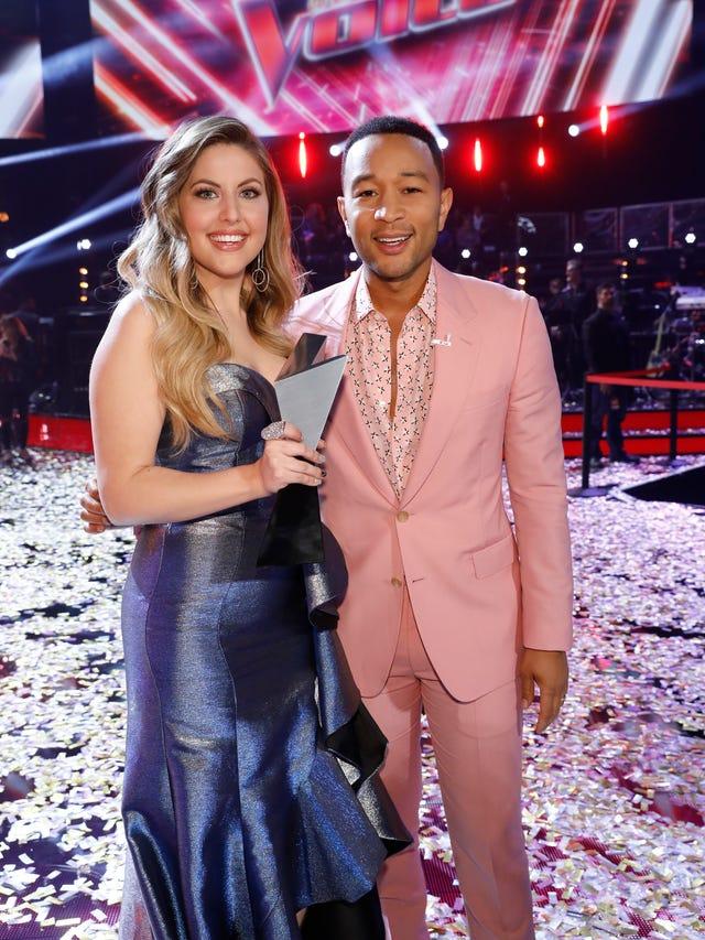 The Voice' crowns its Season 16 winner  Team Shelton or Team