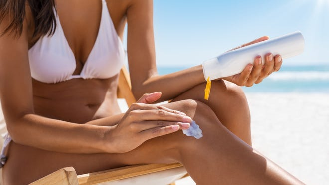 Applying sunscreen is the only way to protect exposed skin from sun damage.