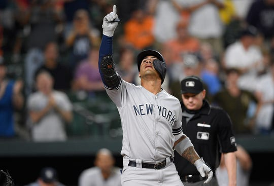 In his second year, Gleyber Torres has helped keep the Yankees afloat.