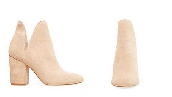These booties will dress up any look.