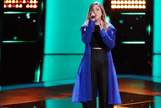 """Jarmon performed Sting's """"Fields of Gold"""" during the Blind Auditions and all four coaches turned their chairs trying to get her to choose them. She was the first member of Team Legend – and the last one standing."""