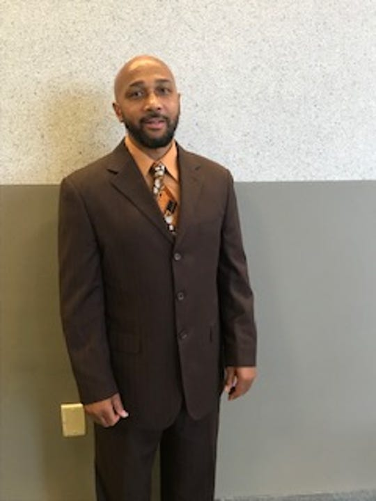 Keith Bush, pictured on the day that prosecutors asked to vacate his homicide conviction