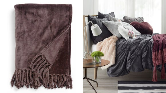 Netflix and cuddle with one of these cute throw blankets.