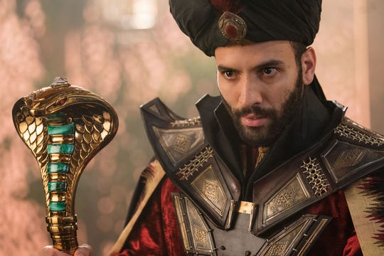 Jafar (Marwan Kenzari) has ambitions to rule the kingdom of Agrabah.
