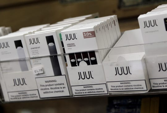 Juul is among the companies pushing for a higher vaping age.