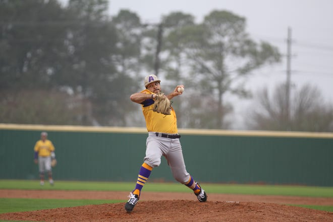 LSUA pitcher Clayton Doyle was named the Red River Athletic Conference Pitcher of the Year.