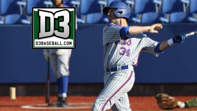 Louisiana College third baseman Clayton Noakes earned a spot on the d3baseball.com All-West Region team.