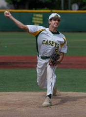 Red Bank Catholic pitcher Vincent Bianchi combined with John Nimeth on a no-hitter against Jackson Memorial Wednesday.
