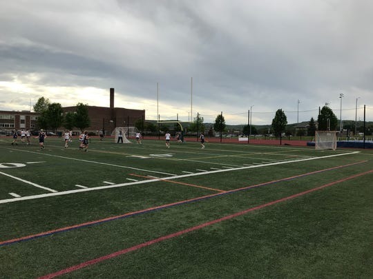 Forks vs. Whitney Point in Class D lacrosse final.