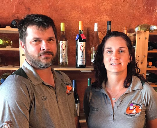 Cliff and Rebecca Ryan are learning about wine as they go, and they love sharing the journey with customers at their Foxwood Wine Co. in the Eau Gallie Arts District.