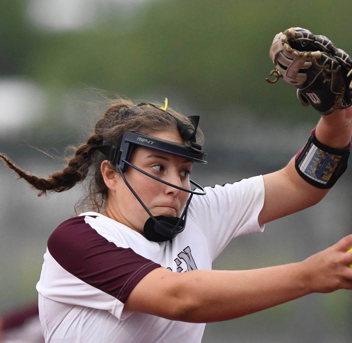 High School Softball: Mata's triple helps Calallen top rival Flour Bluff in Game 1