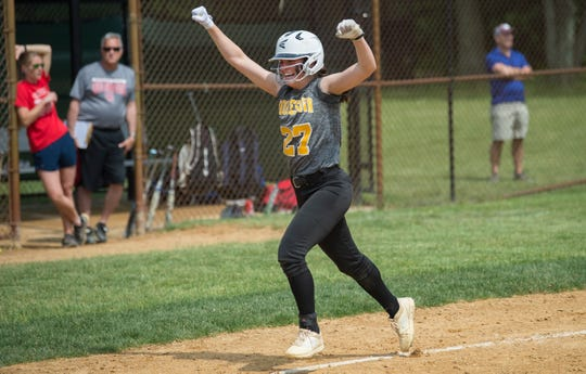 High school softball: LaRusso slams Moorestown into sectional title game