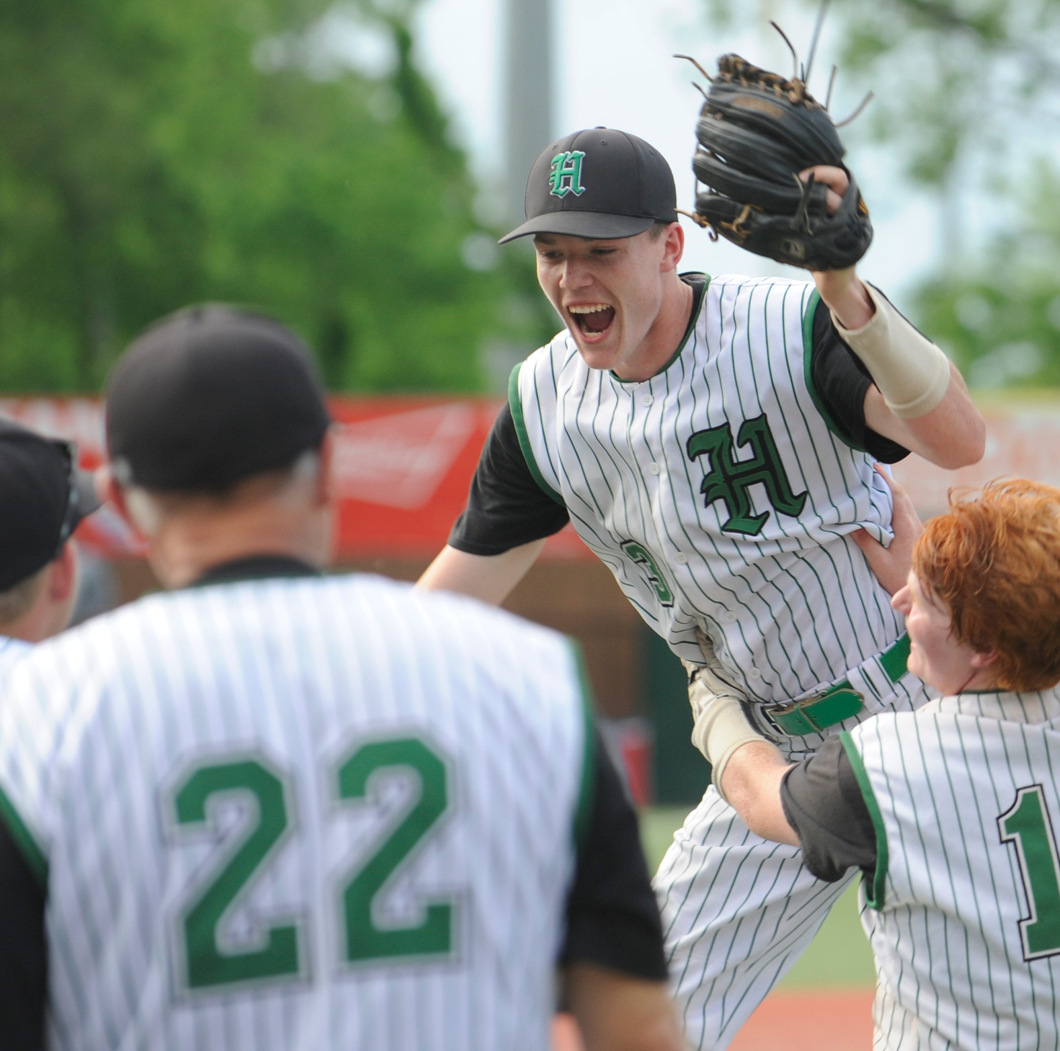 History made: Huntington High School baseball wins first district title in school history
