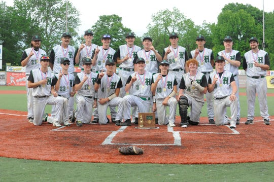 Huntington High School baseball made history on Wednesday with an 8-3 district title win over Whiteoak, their first district title in school history.