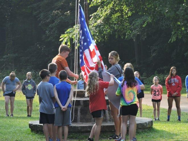 Participating in flag ceremonies is still important to 4-Hers