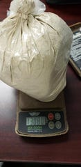 The Pike County Sheriff's Office reported seizing the pictured 13 ounces (368 grams) of suspected heroin during a crash investigation at Pine Top and Schmidt roads on May 22, 2019. Altogether, the sheriff's office reported finding about 370 grams of suspected heroin and 30 grams of suspected fentanyl.