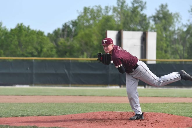 First-team ECC selection Peter Henkel leads the conference in wins (7) and is second in ERA (1.45) this season. He's thrown two complete-game shutouts this postseason.