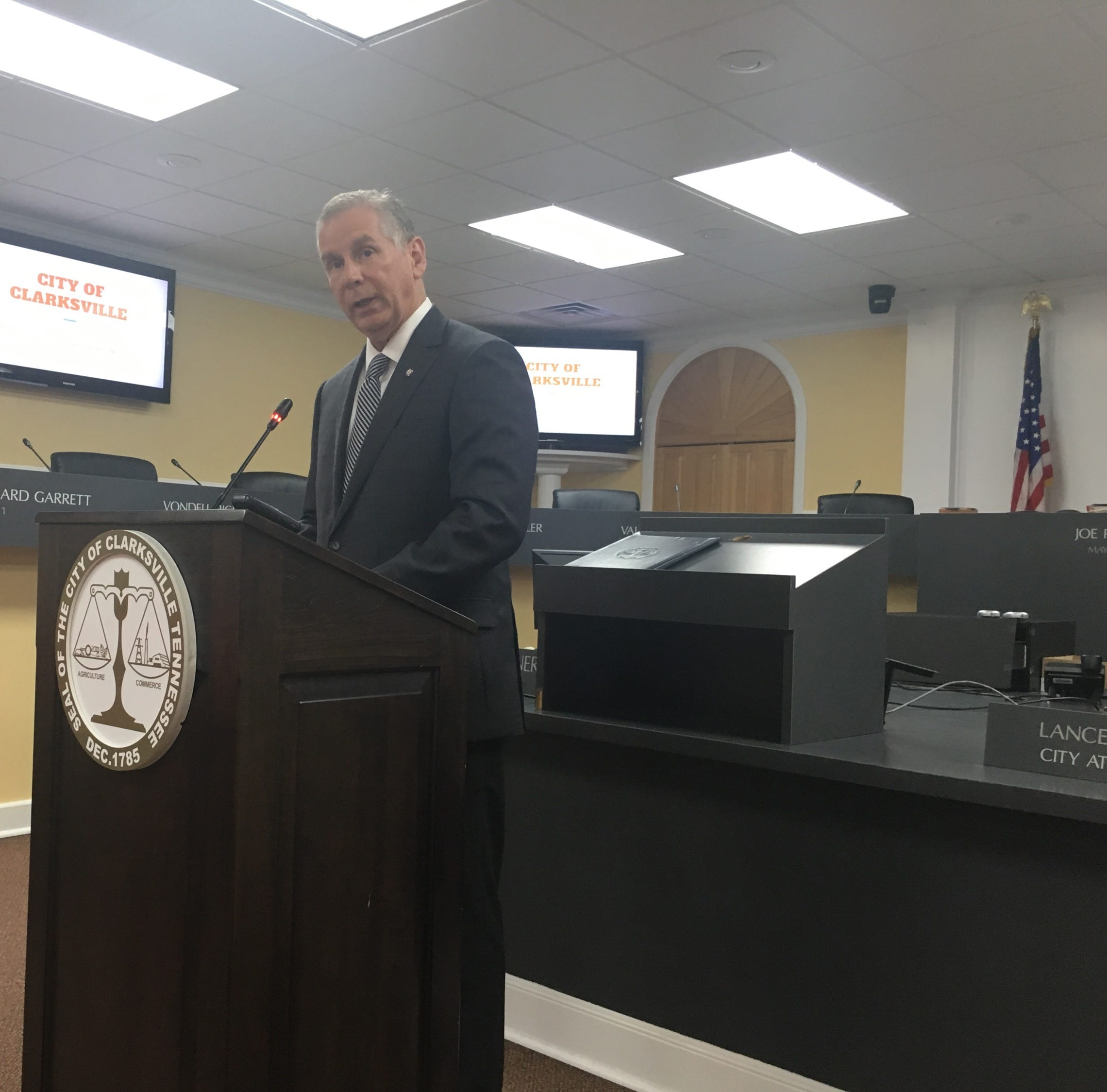 Joe Pitts' first Clarksville budget addresses public safety, roadwork, parks