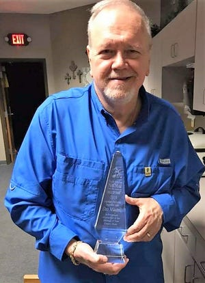 Dan Mitchell on March 16 received the 2019 North American Country Music Association for Legendary Performer Songwriter Artist Award for his longtime work in the music industry. The Warsaw native died Wednesday.
