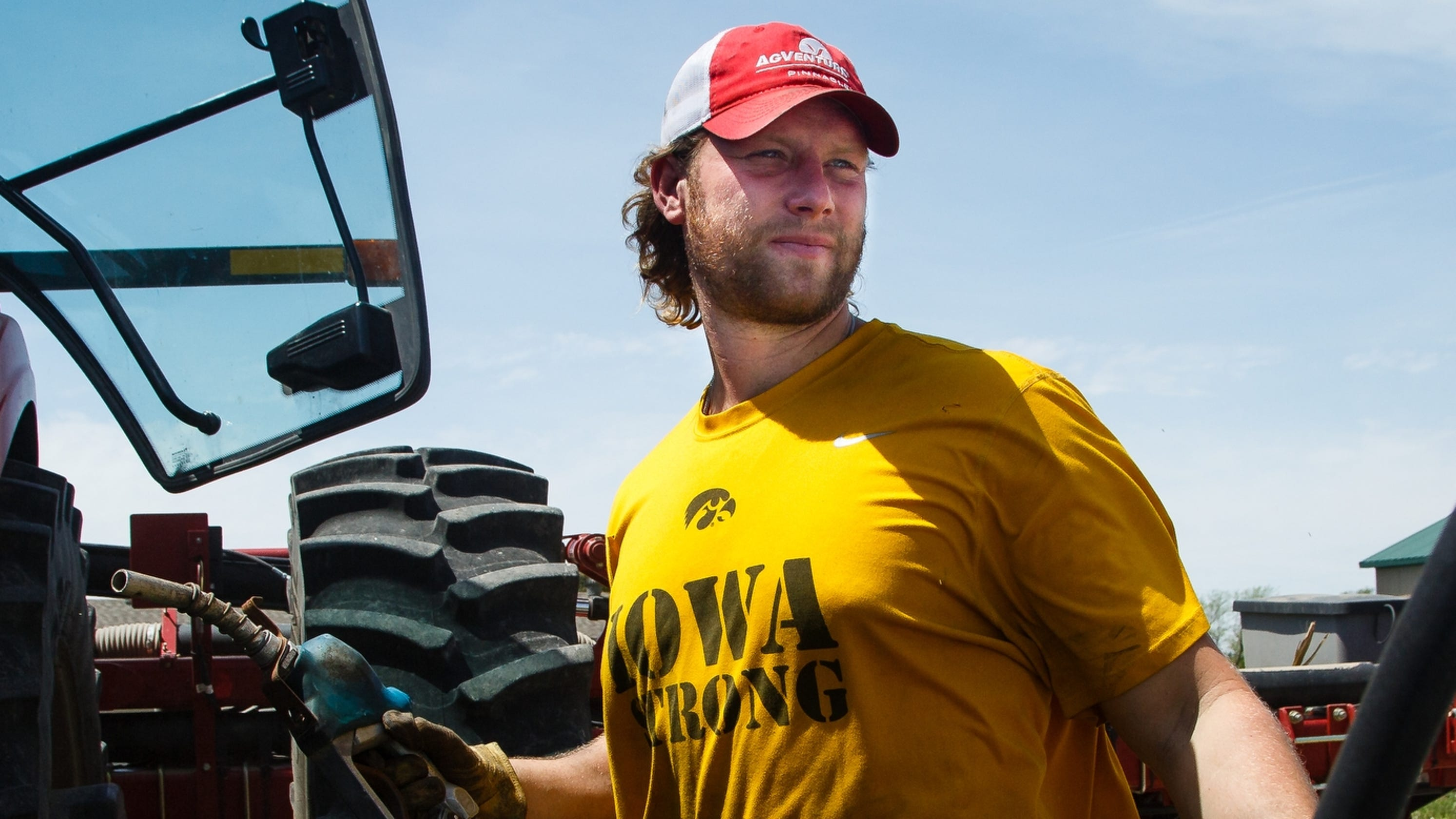 His NFL dreams fell apart. So former Iowa star Drew Ott is building a new life on the farm