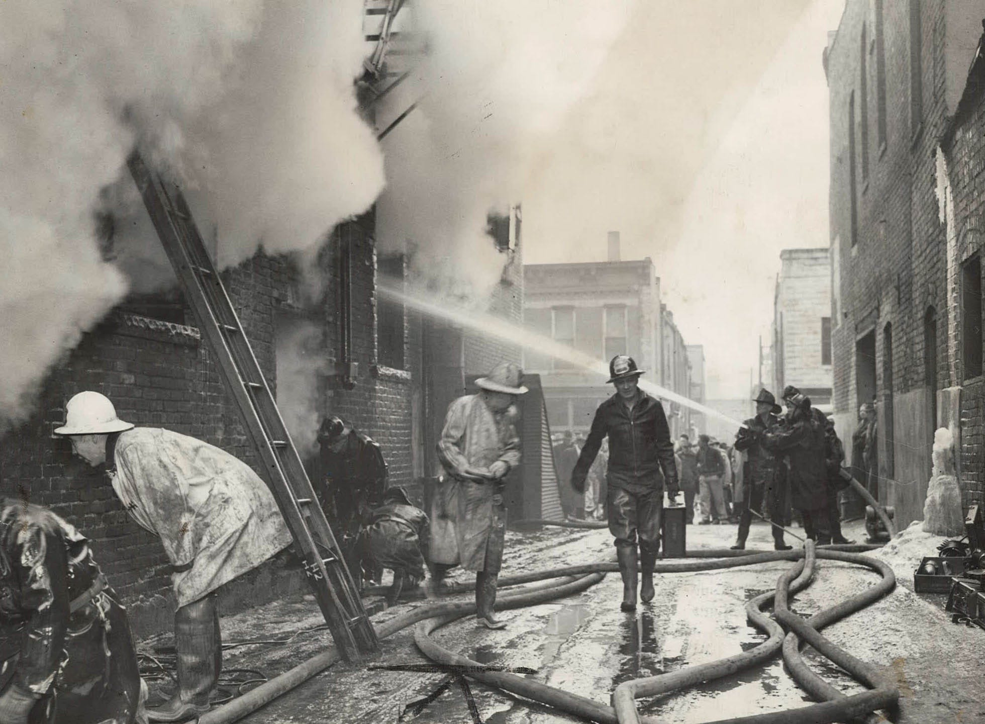 From the archives: Photos of Des Moines firefighters since 1930