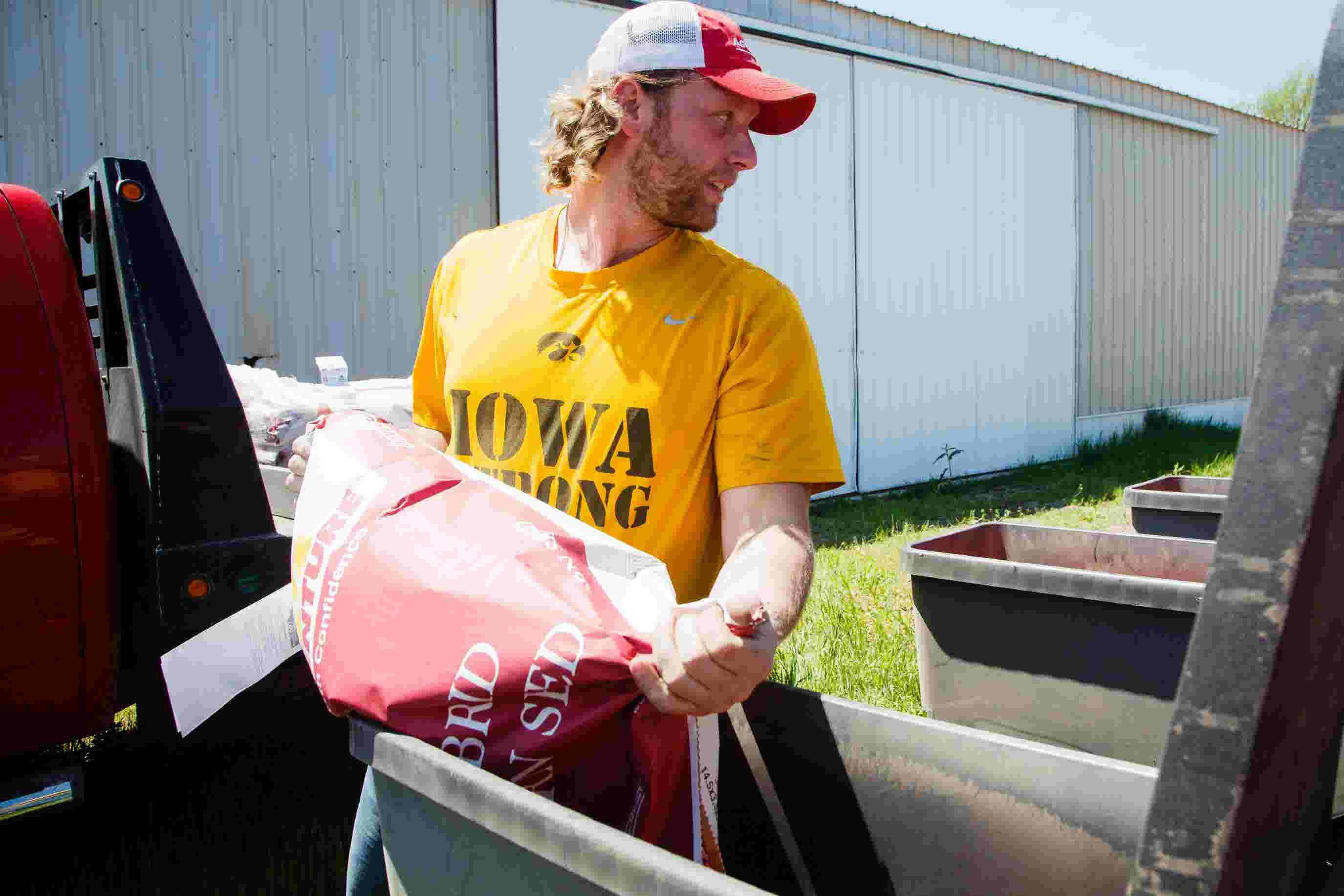 457f904fa NFL dreams died. So ex-Iowa star Drew Ott builds life as a farmer