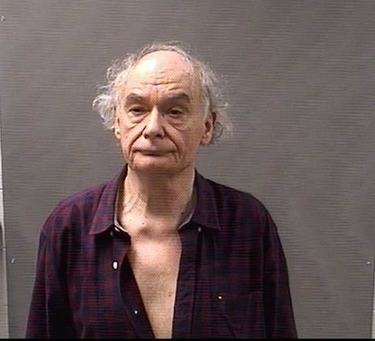 Gary Young, 72, of Clinton Township, who is accused of keying vehicles at the Clinton-Macomb Public Library's main branch in the spring of 2019.