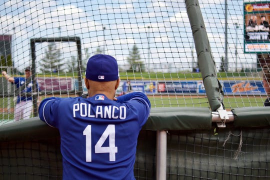 Former Tigers second baseman Placido Polanco, who is a special assistant for player development with the Dodgers, hopes to one day become a manager.
